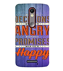 PrintVisa Quotes & Messages Life 3D Hard Polycarbonate Designer Back Case Cover for Meizu M2 Note