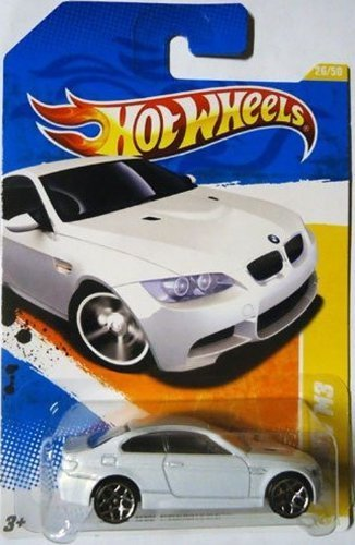 2011 Hot Wheels 26/244 - New Models 26/50- '10 BMW M3 (Metallic White)