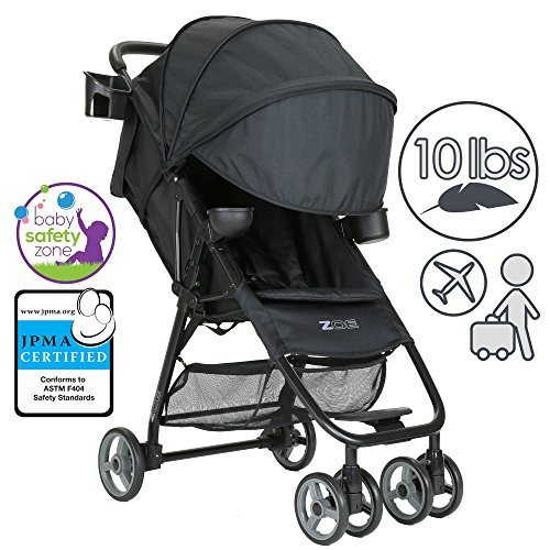 For Sale! ZOE XL1 DELUXE Xtra Lightweight Travel & Everyday Umbrella Stroller System (Black)