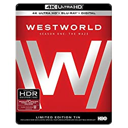 Westworld: The Complete First Season [4K Ultra HD + Blu-ray]