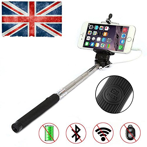 new-extendable-wired-selfie-stick-with-integrated-remote-button-and-universal-phone-holder-suitable-