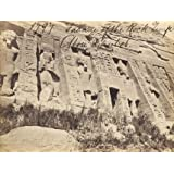 Abou Simbel Rock Temple, photo Francis Frith (V&A Custom Print)