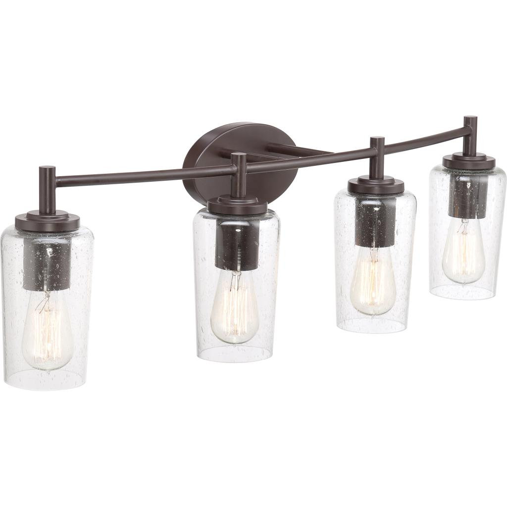 Quoizel eds8604wt edison with western bronze finish bath Bathroom light fixtures brass finish
