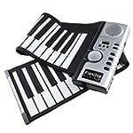 AGPtek Clavier Souple 61 Touches 128...