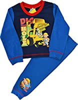 Boys Bob The Builder Snuggle Fit Pyjamas Sizes 12 Months to 4 Years