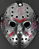 Kane Hodder, Ted White & Ken Kirzinger Signed Friday The 13Th Jason Ma