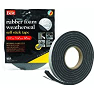 Do it Best Sponge Rubber Weatherstrip Tape-3/4X5/16