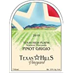 2010 Texas Hills Vineyard Pinot Grigio 750 mL