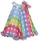 Bonnie Jean Girls Polka Dot Birthday Party Dress, 0-3M - 24M