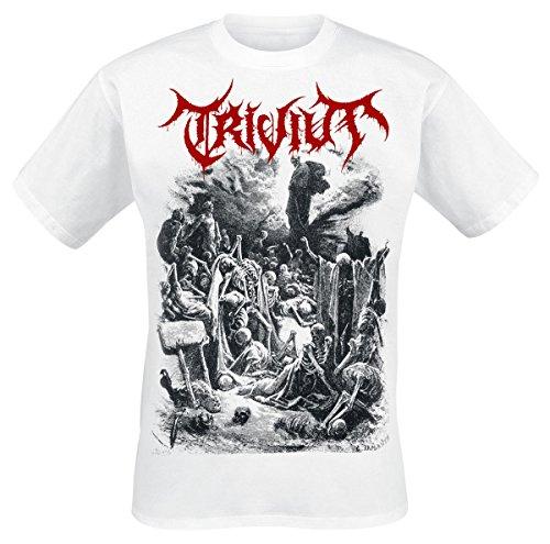 Trivium Dry Bones T-Shirt bianco XL