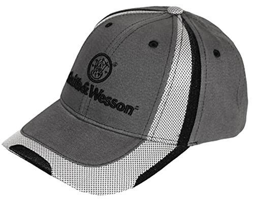 smith-wesson-grey-sport-mesh-stretch-fit-logo-cap