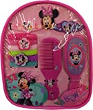 Minnie Mouse Backpack with Assorted Hair Accessories