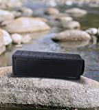 Photive HYDRA Rugged Water Resistant Wireless Bluetooth Speaker. Shockproof and Waterproof Wireless Speaker with latest Bluetooth 4.0 Technology