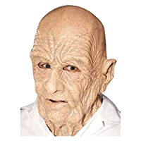Old Man Scary Halloween Latex Face Mask - Off the Wall Toys