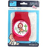 Baby Bucket Soft Cotton Knee Pad (Lion, Red)