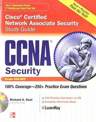 Ccna Cisco Certified Network Associate Security Study Guide With Cdrom (Exam 640-553) (Certification Press)