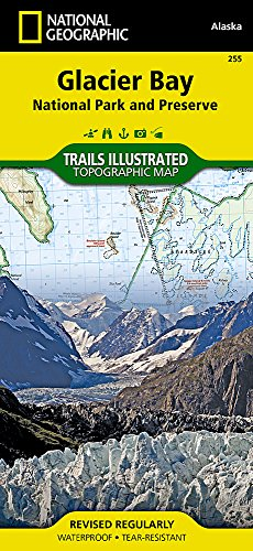 Glacier Bay National Park (National Geographic Trails Illustrated Map)