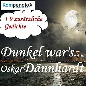 Dunkel war's... Hörbuch