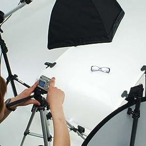 lightgrafica ミディアムフル50×70cm蛍光灯照明1灯セット
