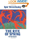 The Rite of Spring in Full Score