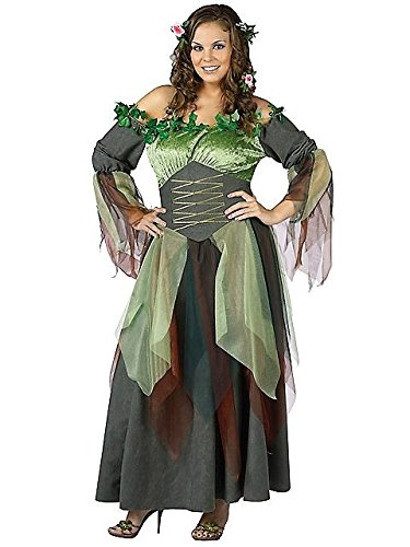 Mother Nature Costume - Plus Size 1X/2X - Dress Size 16-20