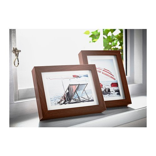 Ikea ribba 5x7 picture frame wood grain set of 2 for Ikea ribba plank