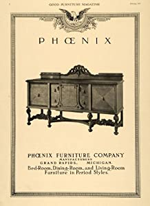 Amazon.com - 1919 Ad Phoenix Furniture Buffet Table Sideboard