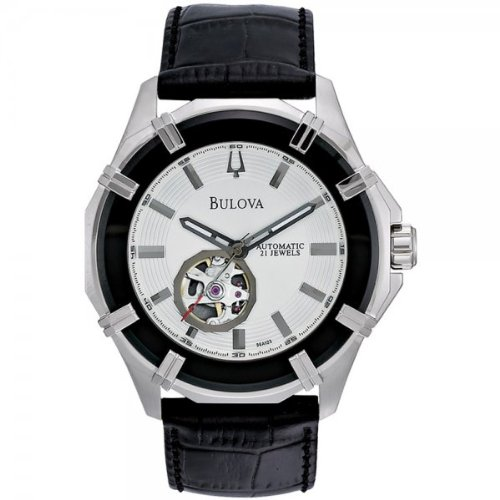 Bulova 96A123 Mens Automatic Black Watch