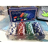 Poker Casino Dice Style Chips 100pc Set 11.5 Gram