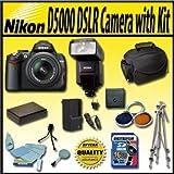 Nikon D5000 12.3 MP DX Digital SLR Camera with