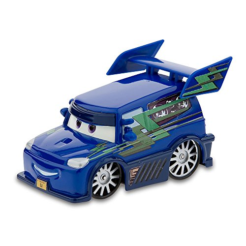 Authentic Disney Store Movie Exclusive Pixar Cars 148 Die Cast Car Vehicle in Plastic Display Case - DJ (Disney Pixar Cars Rv compare prices)