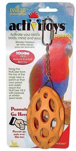 JW Pet Company Insight Nutcase Large Bird Toy Assort Colors