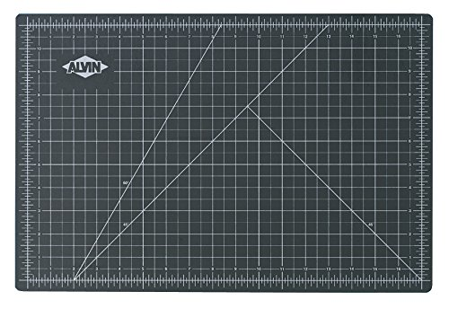 Alvin Professional -Self Healing Cutting Mat GREEN/BLACK (12x18)