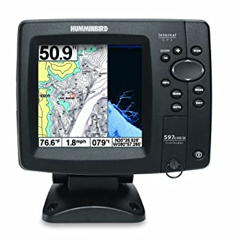 Timber, rocks, or even fish watch it all take shape on a crystal-clear, full-color, 5-inch display. With screens that size, it's easy to take advantage of versatile Down Imaging Sonar and exclusive Humminbird SwitchFire technology, with a beam sensit...