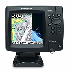 Humminbird 408120-1 Fishfinder 597ci HD DI Combo by Humminbird