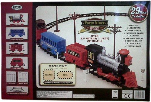 EZ-Tec Forty Niner Special 29 Piece Train Set