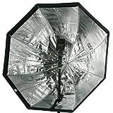 Sombrilla de estudio Softbox ePhoto Speedlight tipo 30 octagonal con cuadrícula para Canon Nikon o Alien Bees Softbox880gd