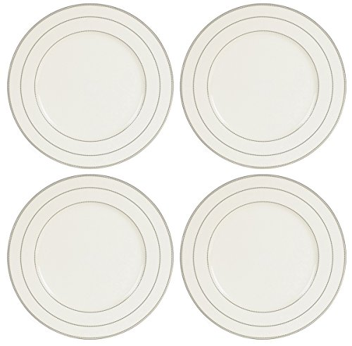 Mikasa Chelsea Platinum 12-inch Charger Plates, (Set of 4) (Platinum Charger Plates compare prices)