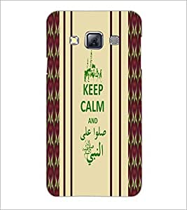 PrintDhaba Quote D-2721 Back Case Cover for SAMSUNG GALAXY A3 (Multi-Coloured)