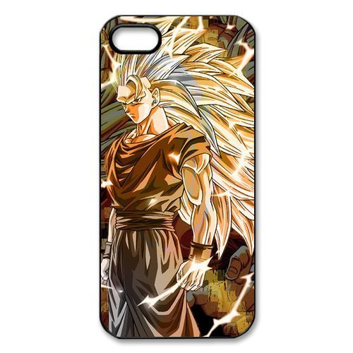 Popular Japanese Anime Dragon Ball Z Goku Especial Durable Hard Plastic Case Cover Fits Apple Iphone 5/5S Design Yedda Diy