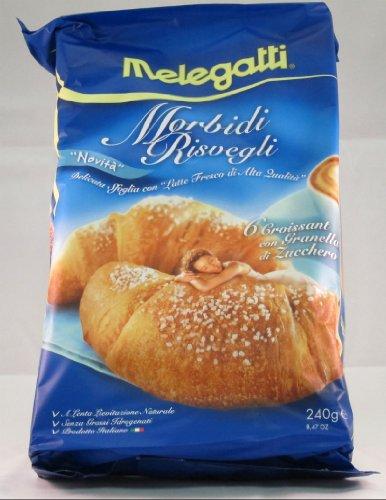 Melegatti Granella di Zucchero Croissant Full Case