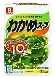 理研 わかめスープ 箱 徳用 (6.4g×10袋入り)×5箱