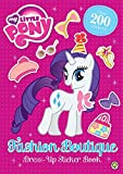 Fashion Boutique Dress-Up Sticker Book (My Little Pony)