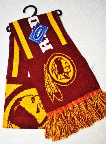 NFL Washington Redskins Knit NFL official Knit Stripe Jersey Scarf 2011 NE by forever