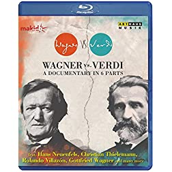 Wagner Vs. Verdi - A Documentary in 6 Parts [Blu-ray]