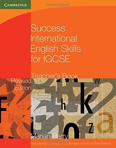 Success International English Skills for IGCSE Teacher's Book (Georgian Press)