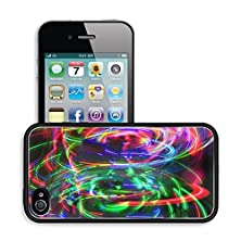 buy Luxlady Premium Apple Iphone 4 Iphone 4S Aluminum Backplate Bumper Snap Case Image Id 21317573 Cool Abstract Light Pattern