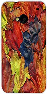 Snoogg Background Made Of Red Maple Leaves Designer Protective Back Case Cove...