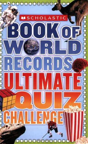 Scholastic Book Of World Records Ultimate Quiz Challenge front-479537