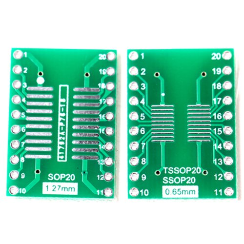 5x SMD Adapterplatine SOIC20 / SOIC-20 / SOP20 Adapter